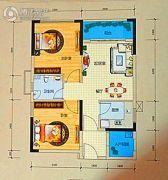 龙光阳光海岸2室1厅1卫0平方米户型图