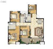 华宇林泉雅舍4室2厅2卫129平方米户型图