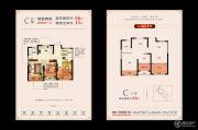 盈都江悦城2室2厅1卫0平方米户型图