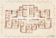恒大雅苑105--137平方米户型图