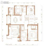 君临天下4室2厅3卫0平方米户型图