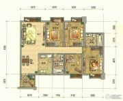 七彩云南第壹城2室2厅2卫160--163平方米户型图