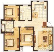 鑫华国际新城3室1厅1卫0平方米户型图