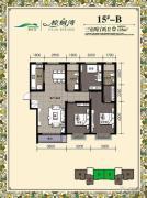 棕榈湾3室2厅2卫125平方米户型图