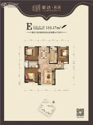 爱达・883室2厅1卫0平方米户型图