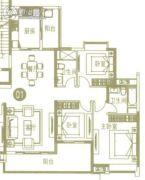 广州亚运城4室2厅2卫150平方米户型图