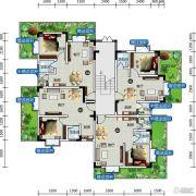 云溪温泉国际旅游度假区1室1厅1卫39平方米户型图