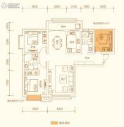 百郦湾3室2厅2卫120平方米户型图