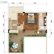 金科御临河1室1厅1卫0平方米户型图