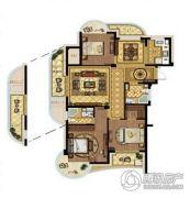 哨兵汤鼎一�3室2厅2卫115平方米户型图