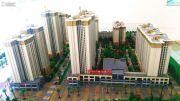 东峰国际公寓沙盘图