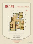 北京风景3室2厅2卫145平方米户型图