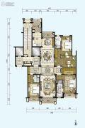 星河湾半岛4室2厅3卫254平方米户型图