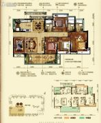 �h珑湾5室2厅3卫160平方米户型图