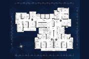 锦绣海湾城102--126平方米户型图