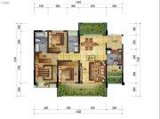 万象国际城3室2厅2卫146平方米户型图