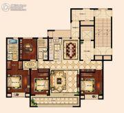 苏州唐宁府4室2厅2卫165平方米户型图