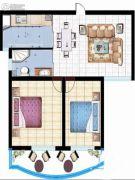 紫玉城2室1厅1卫0平方米户型图