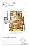 融创大家侯潮府5室2厅3卫0平方米户型图