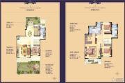 恒大茸景佳苑4室2厅3卫0平方米户型图