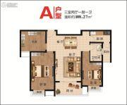 大唐凤凰府3室2厅1卫108平方米户型图