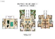新田城3室3厅3卫0平方米户型图