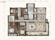 融创碧桂园望江府4室3厅3卫0平方米户型图
