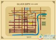 银都名墅交通图