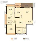 华悦春天4室2厅2卫130--139平方米户型图