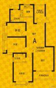 恒生・光合城3室2厅2卫117平方米户型图