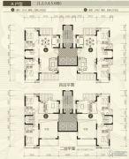 裕和天地4室3厅4卫247平方米户型图