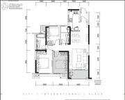 旭辉・国际广场3室2厅2卫94平方米户型图