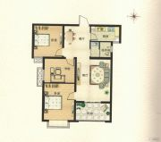 博瑞沁园3室2厅1卫0平方米户型图
