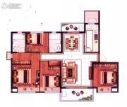 恒大悦珑湾4室2厅2卫129平方米户型图