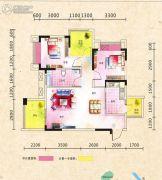 广厦城蜜宫2室2厅1卫0平方米户型图