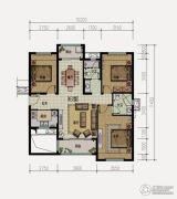 中惠龙熙山・江山3室2厅2卫0平方米户型图