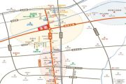 神州通北城新境交通图