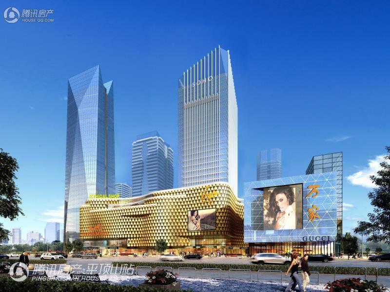 鸿瑞360广场效果图