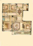 华鸿・瑞安府4室2厅2卫144平方米户型图