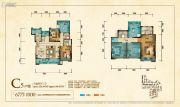 华美翡丽山5室2厅3卫126平方米户型图