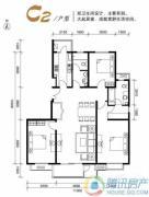 水墨林溪3室2厅2卫131平方米户型图