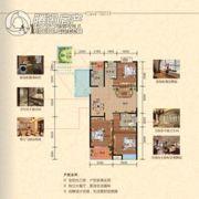 兆丰花苑3室2厅2卫0平方米户型图