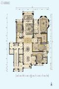 星河湾半岛4室2厅4卫394平方米户型图