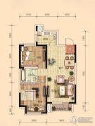 东安瑞凯国际2室2厅1卫76平方米户型图