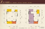 星湖名郡3室2厅2卫80--150平方米户型图