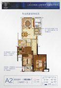 楚天都市・朗园3室2厅1卫92平方米户型图