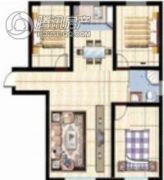 紫玉城3室21厅0卫99--142平方米户型图