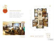 首开保利・熙悦诚郡4室2厅2卫144平方米户型图