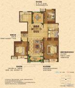 中海锦��湾4室2厅2卫136平方米户型图