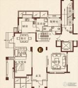 彩虹湖4室2厅4卫312平方米户型图